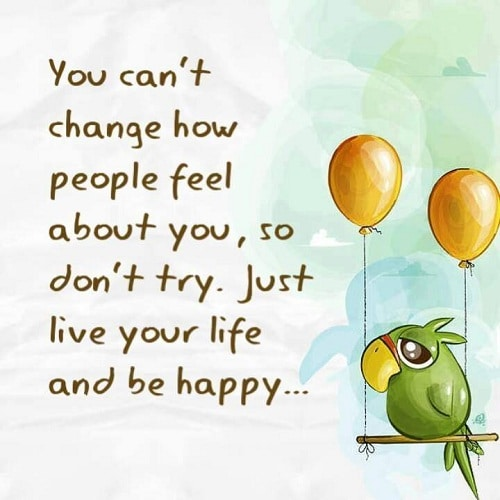 Be Happy Lovely Quotes