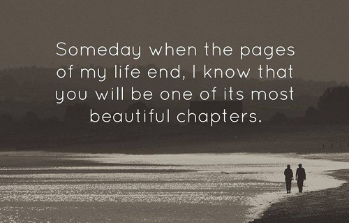 Beautiful Chapters Love Quotes for Her