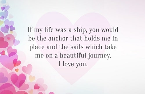 Beautiful Journey Love Quotes for Husband
