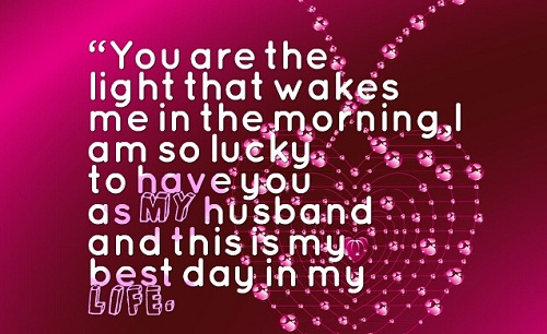 Love Quotes For Husband Mesmerizing 48 Beautiful Love Quotes For Husband With Images Good Morning Quote