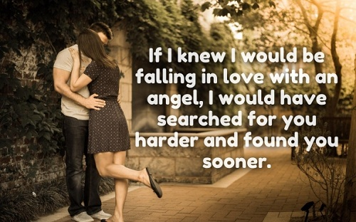 Beau Falling For An Angel Love Quotes For Her