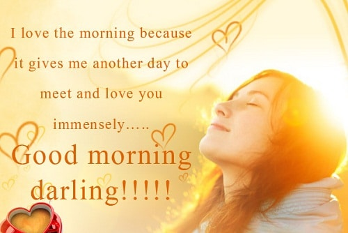 Love Quotes For Her To Say Good Morning : 110 Romantic Love Quotes for Her with Images - Good Morning Quote