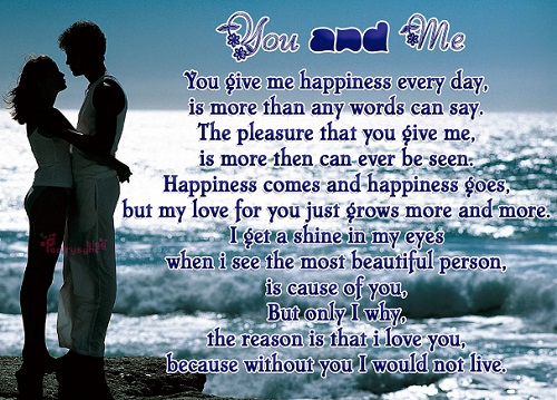 Happiness Everyday Love Quotes For Her