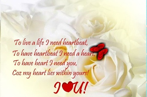 Heart Lies Within You Love Quotes for Her