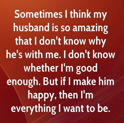 Im Good Enough Love Quotes For Husband