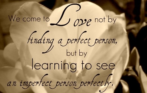 Imperfect Person Love Quotes For Husband