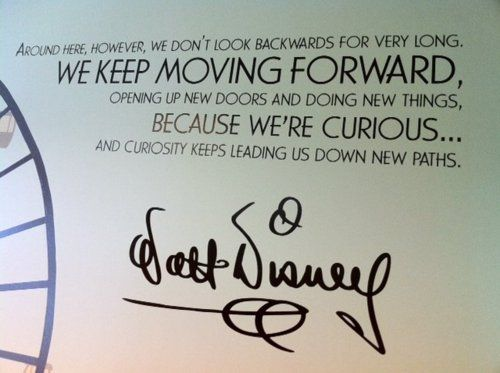 Keep Moving Forward Walt Disney Quotes