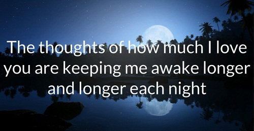 Longer Each Night Love Quotes for Her