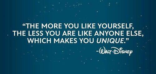 Makes You Unique Walt Disney Quotes