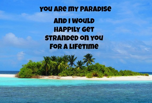 My Paradise Love Quotes for Husband