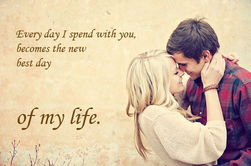 Attractive New Best Day Love Quotes For Husband Photo