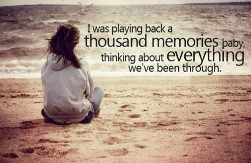 Thousand Memories Love Quotes for Her