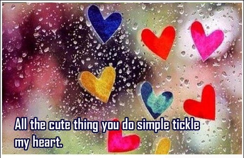Tickle my Heart Love Quotes for Her