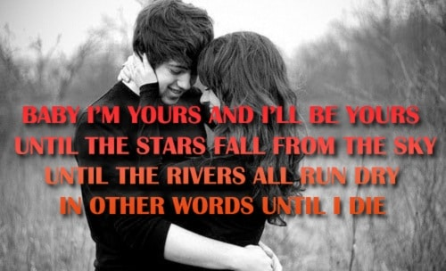 Until I Die Love Quotes for Husband