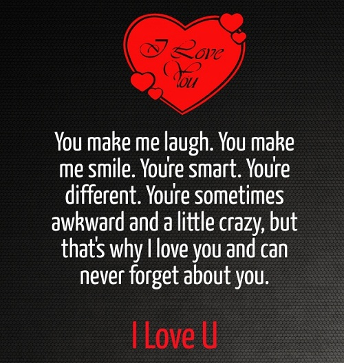 You Make Me Laugh Love Quotes for Her