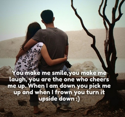 You Make Me Smile Love Quotes For Her