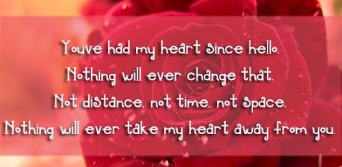 Youu0027ve Had My Heart Love Quotes For Her