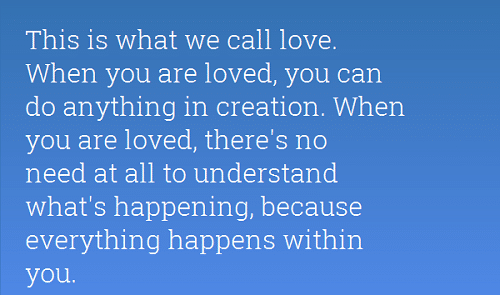 Call Love the Alchemist Quotes