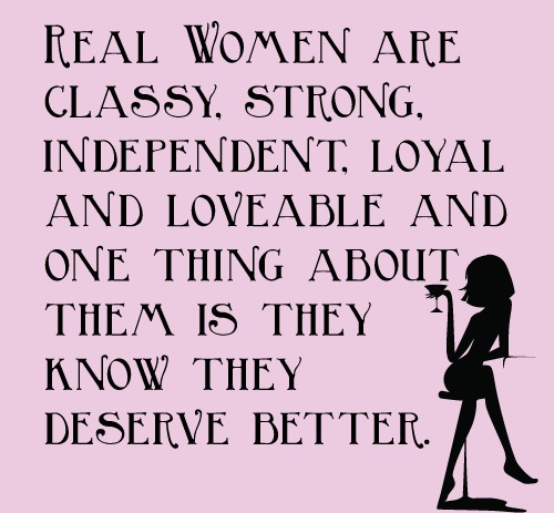 Deserve Better Women Empowerment Quotes