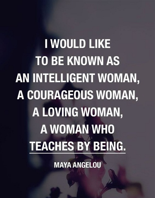 Intelligent and Loving Women Empowerment Quotes