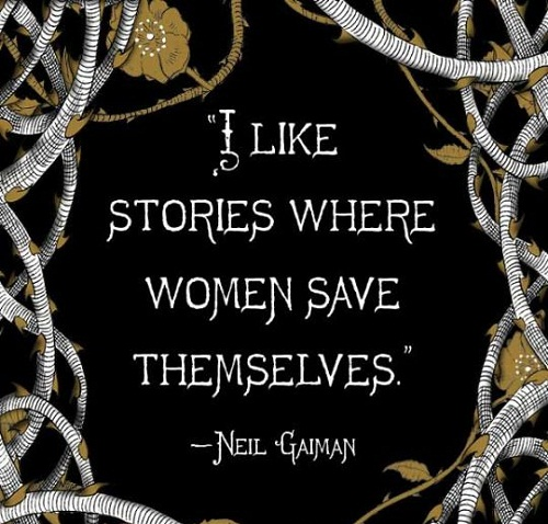 Saves Themselves Women Empowerment Quotes