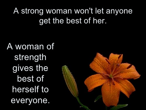 Strength Women Empowerment Quotes