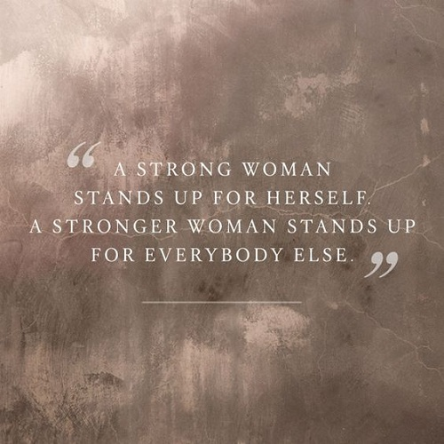 Strong and Stronger Women Empowerment Quotes