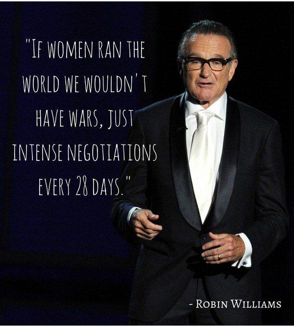 Robin Williams Poignant Quotes