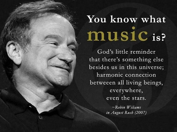 Robin Williams Quotes August Rush
