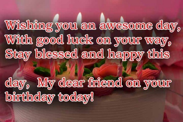 Best Birthday Wishes For Friend