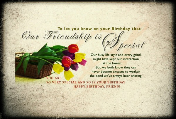 72 Happy Birthday Wishes for Friend with Images - Good