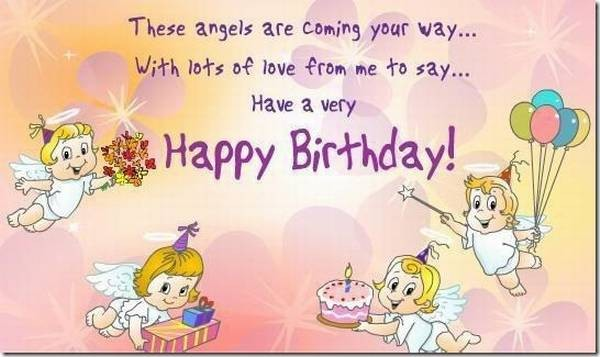 72 happy birthday wishes for friend with images good morning quote these angels are coming your way with lots of love from me to say birthday wishes m4hsunfo