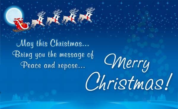 110 Merry Christmas Greetings, Sayings And Phrases - Good Morning