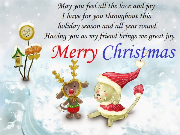 Merry Christmas Greetings For Everyone
