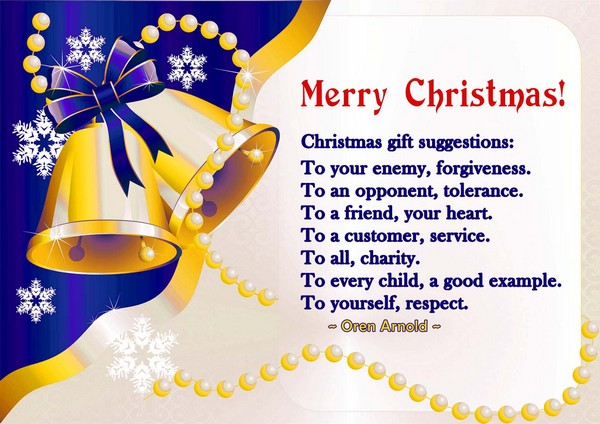 Merry Christmas Greetings Phrases