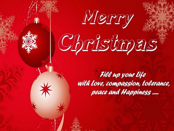 Merry Christmas Greetings Wishes