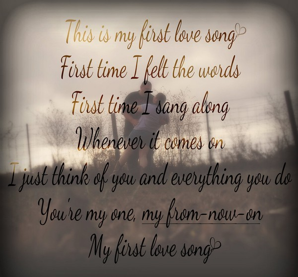 First Time Love Quotes