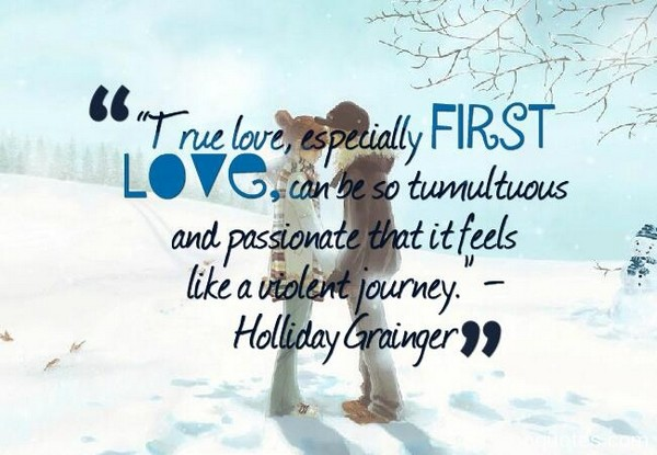 My First Love Quotes