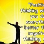 50 Best Positive Thoughts for the Day
