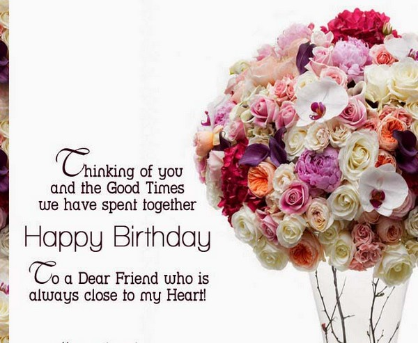 Happy Birthday Message Good Friend ~ Happy birthday wishes for friend with images good morning quote