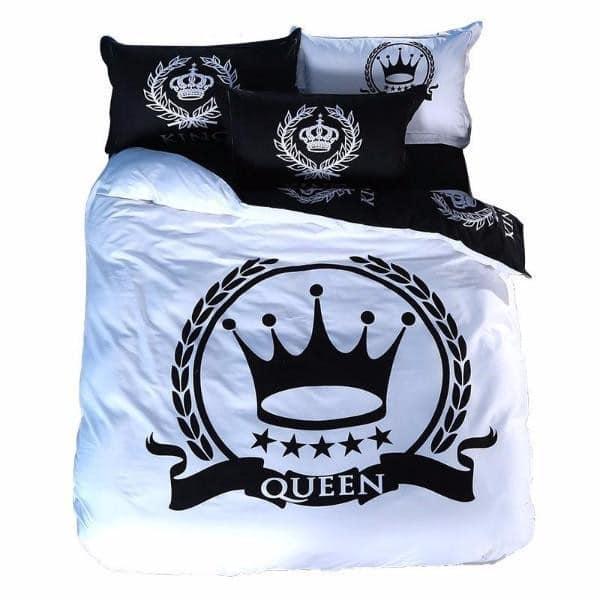 Royal Printed Couple Bed Sheets