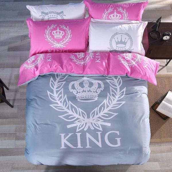 Royal Printed Couple Bed Sheets