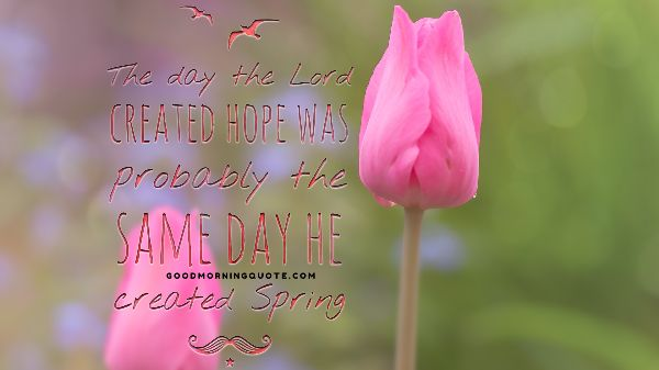 Biblical Spring Quotes