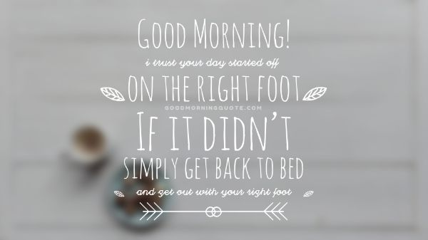 Cute Good Morning Images With Quotes