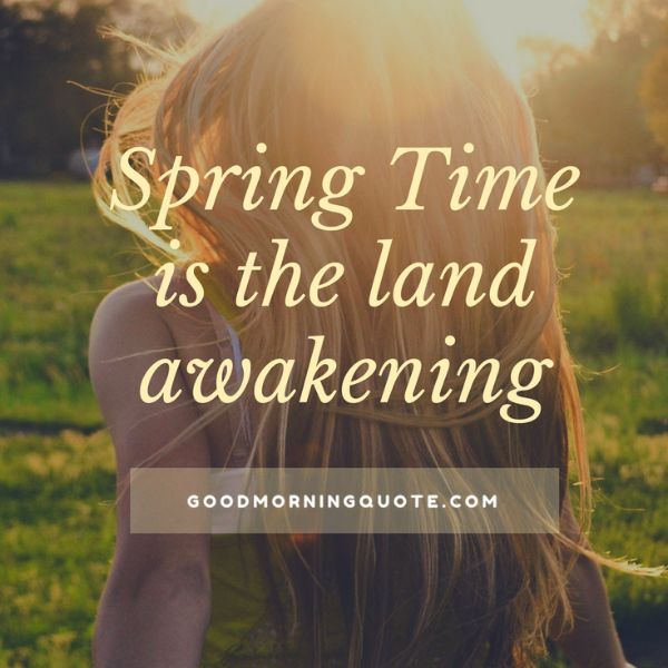 Dreaming Of Spring Quotes