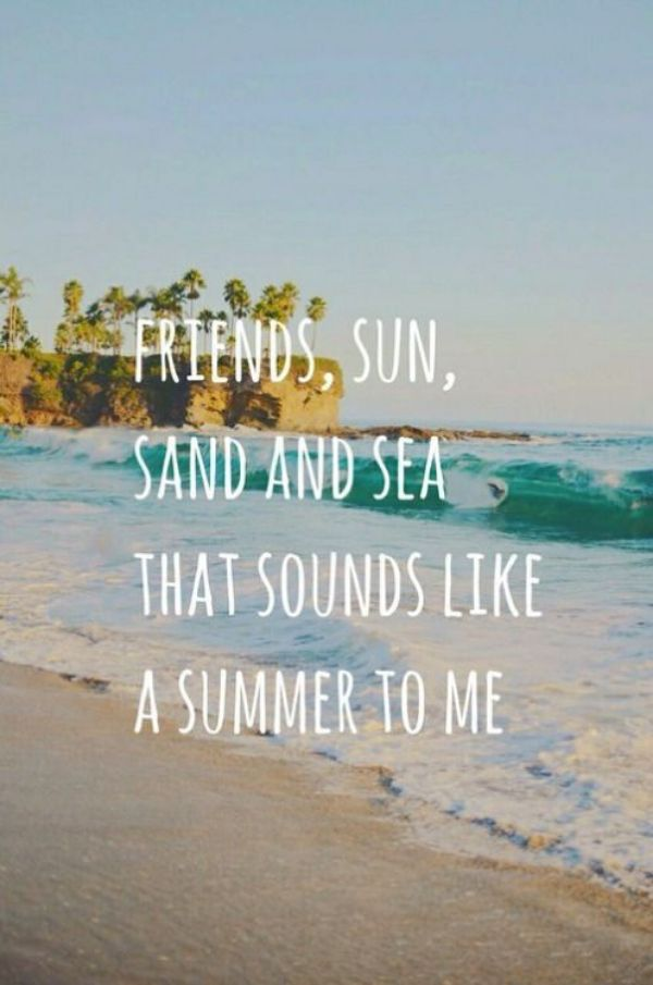 Friendship Summer Quotes