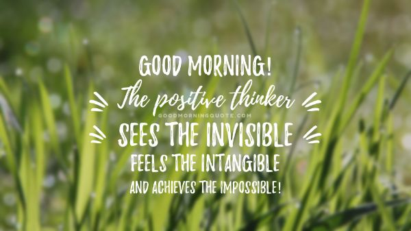 Good Morning Positive Images With Quotes