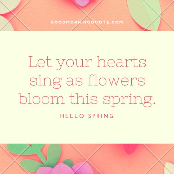 Happy Spring Quotes