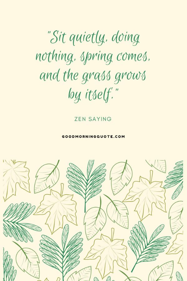 Im Ready For Spring Quotes