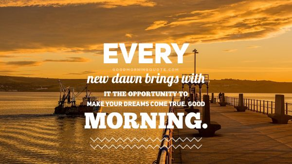 Lovely Good Morning Images With Quotes